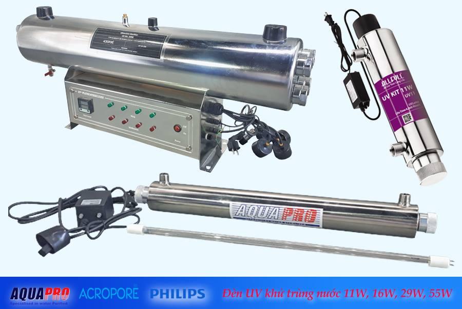 Bộ đèn khử trùng UV 11w