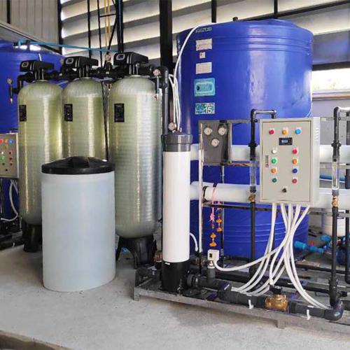 Sơ đồ Hệ thống lọc nước RO 2m3/giờ cho Tháp giải nhiệt