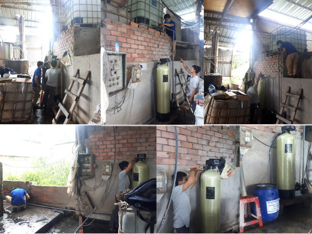 Dự án khử cứng nước cứng cho lò hơi tại Vĩnh Cửu, Đồng Nai