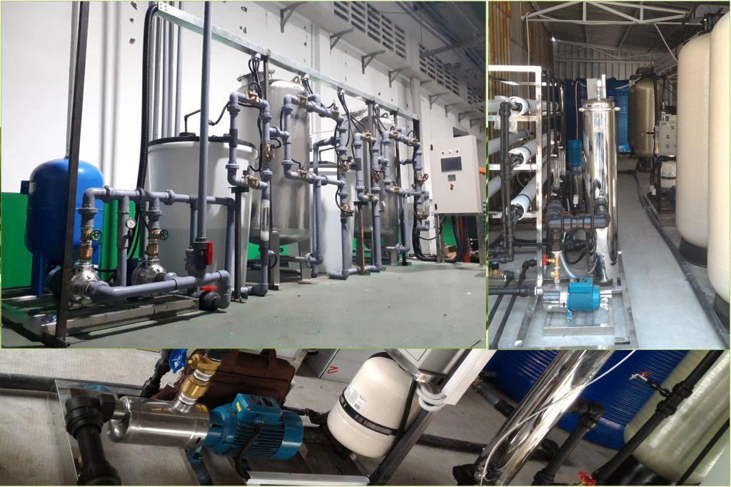 Dự án lắp đặt hệ thống khử khoáng DI