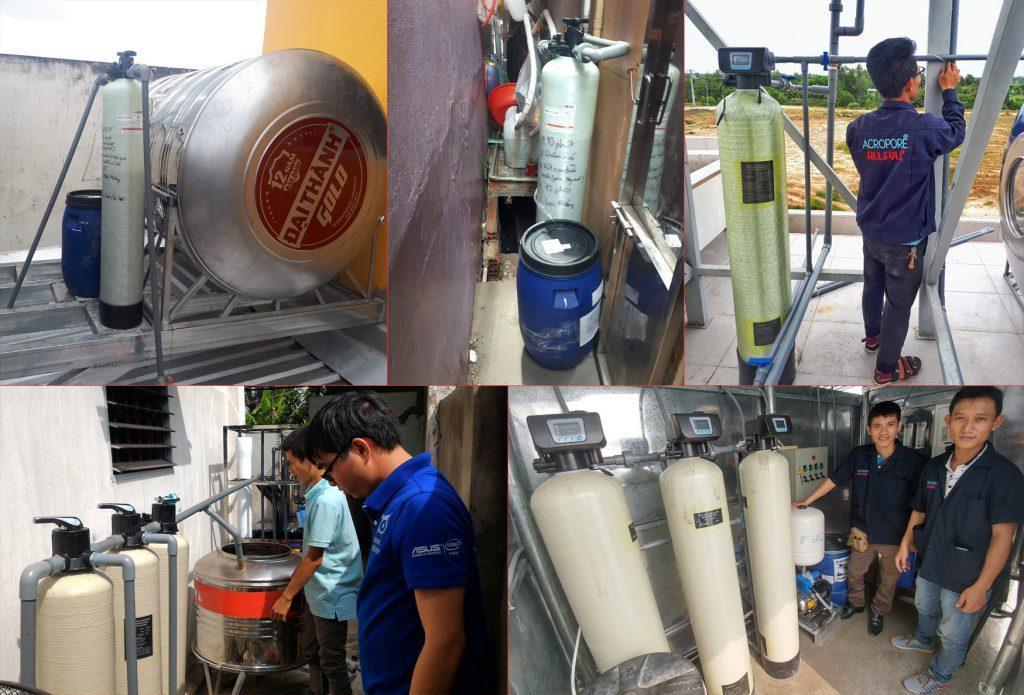 Dự án Lắp đặt thiết bị làm mềm nước