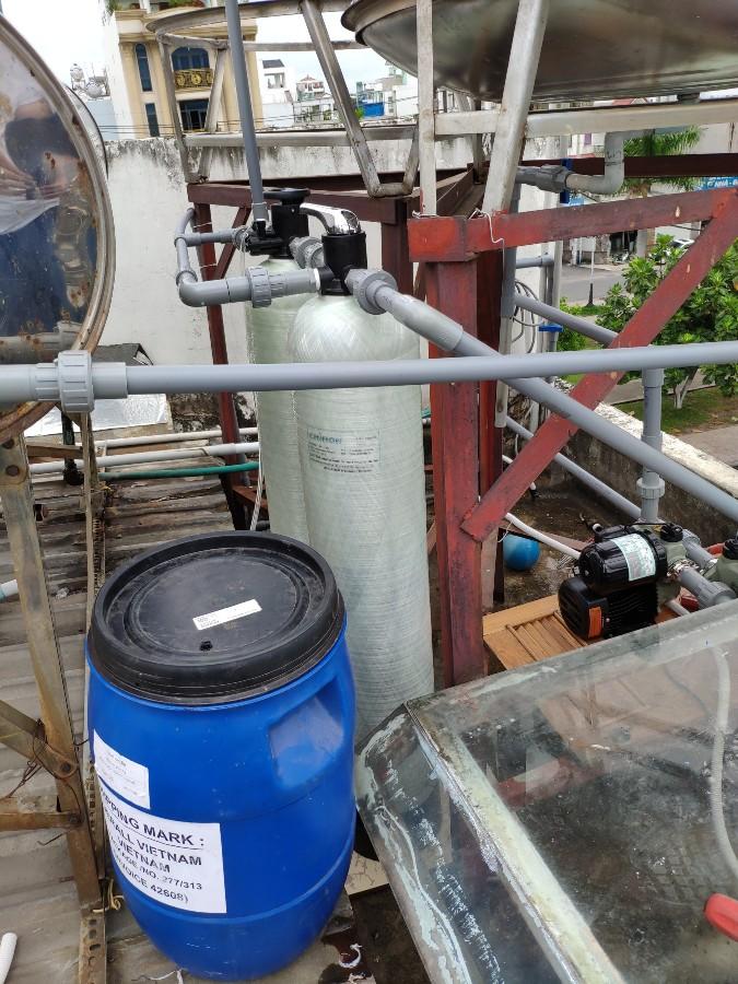 Lắp cột lọc sinh hoạt cho Hộ gia đình Q.Tân Phú, TP.HCM
