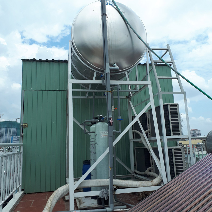 Lắp đặt thiết bị khử phèn và khử cứng 600 lít/giờ