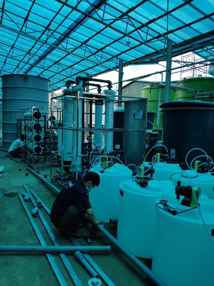 Hệ thống lọc tái sử dụng nước thải - Vinafood - Cà Mau
